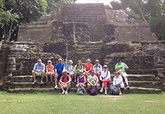 Trip-mayan ruins